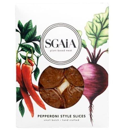 Sgaia Pepperoni Style Slices 150g