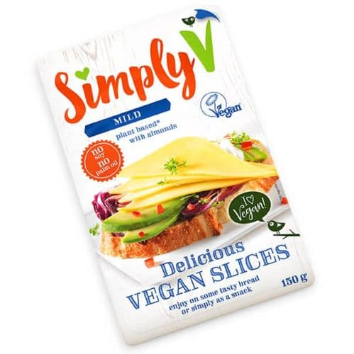 Simply V Mild Vegan Slices 150g