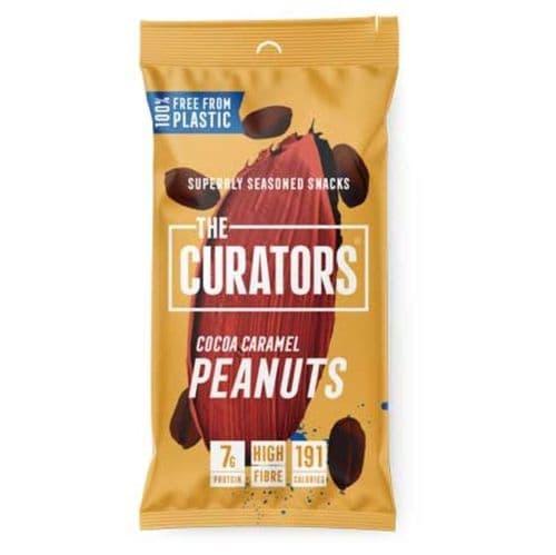 The Curators Cocoa Caramel Peanuts 35g