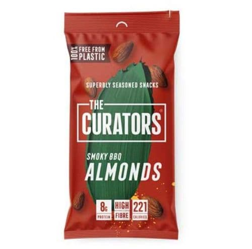 The Curators Smoky BBQ Almonds 35g