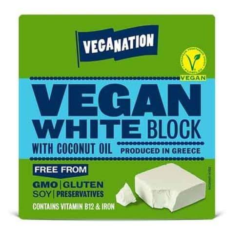 Veganation White Block 150g