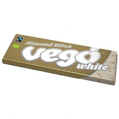 Vego Organic White Almond Bliss 50g