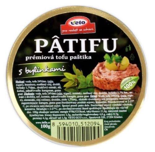 Veto Patifu Herbs Pate 100g