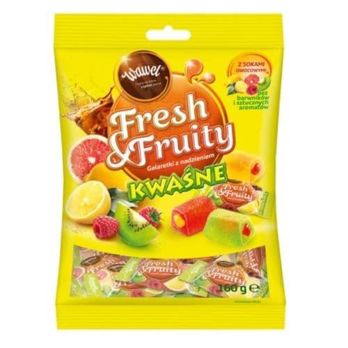 Wawel Fresh & Fruity Sour Jellies 160g