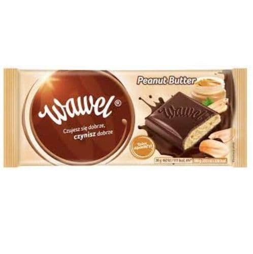 Wawel Peanut Butter Filled Chocolate 100g