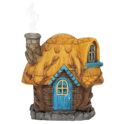 BUTTERCUP COTTAGE INCENSE CONE HOLDER BY LISA PARKER