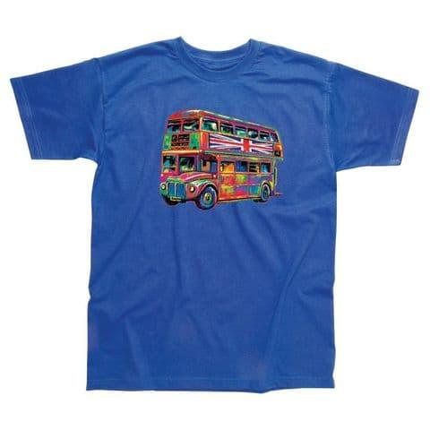 Children's Classic T-Shirt - Colourful Bus PMC02