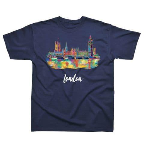 Children's Classic T-Shirt - Colourful London PMC01