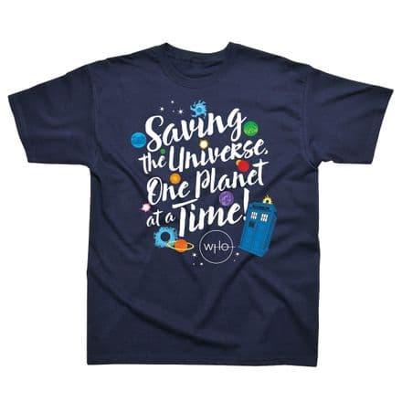 Children's Classic T-Shirt Doctor Who - Saving the Universe DWC07