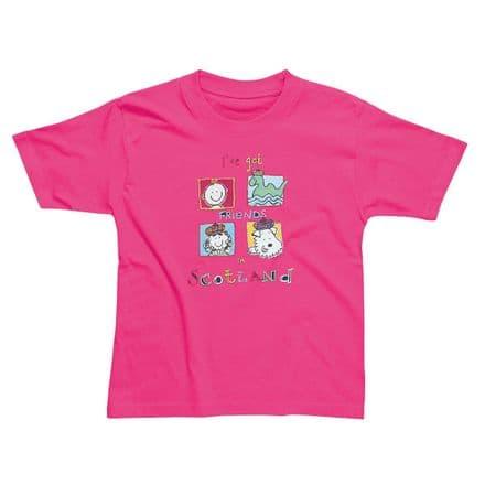 Children's Classic T-Shirt - Friends in Scotland SSC24