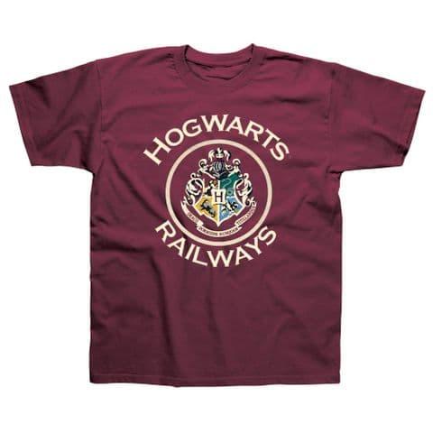 Children's Classic T-Shirt Harry Potter - Hogwarts Railways HPC04