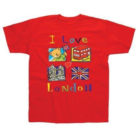 Children's Classic T-Shirt - I Love London SLC31