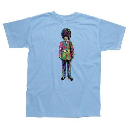 Children's Classic T-Shirt - London - Colourful Guardsman PMC03