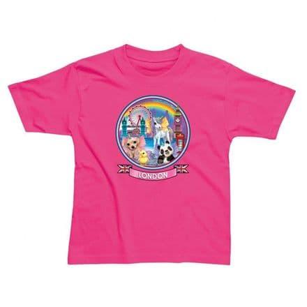 Children's Classic T-Shirt - London Unicorn PMC24