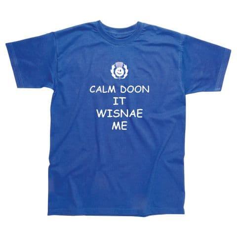 Children's Classic T-Shirt - Scotland - Calm Doon SSC79