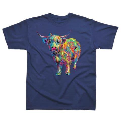 Children's Classic T-Shirt - Scotland - Highland Cow PMC05