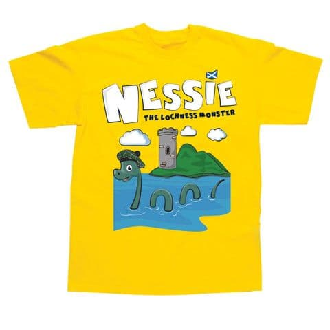 Children's Classic T-Shirt - Scotland - Nessie SSC83