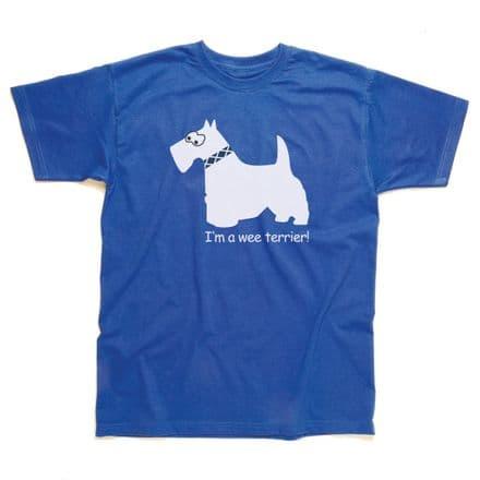 Children's Classic T-Shirt - Scotland - Wee Terrier SSC54