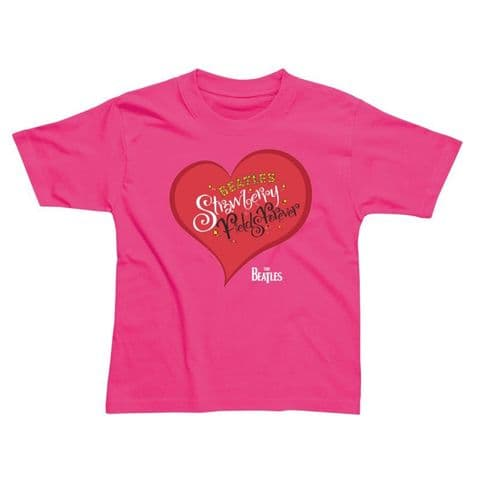 Children's Classic T-Shirt - The Beatles - Strawberry Fields BEC169