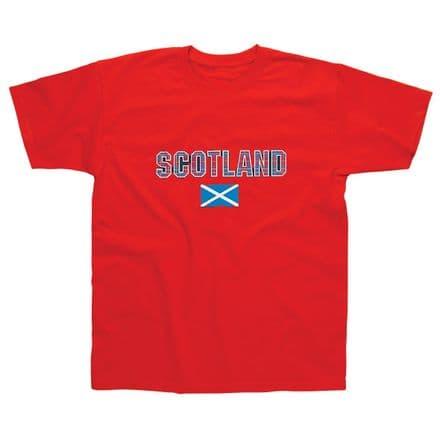 Children's T-Shirt - Scotland Flag SSC04