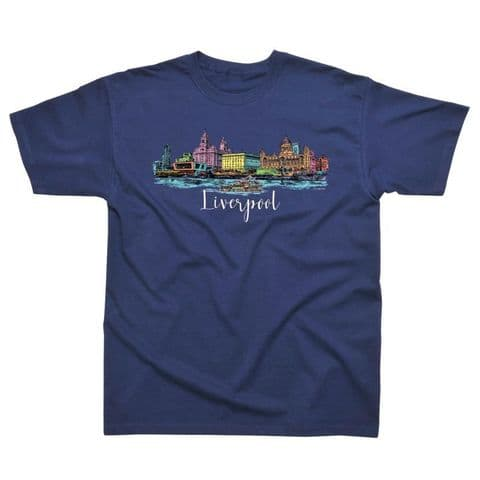 Classic T-Shirt   Colourful Liverpool PM030