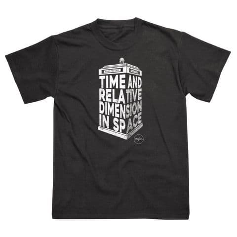 Classic T-Shirt Doctor Who - T.A.R.D.I.S 3D DW011