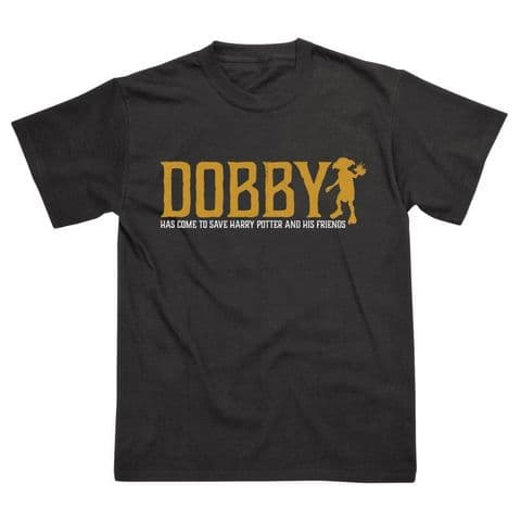 Classic T-Shirt Harry Potter - Dobby Gold HP039