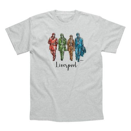 Classic T-Shirt   Liverpool Statues PM032