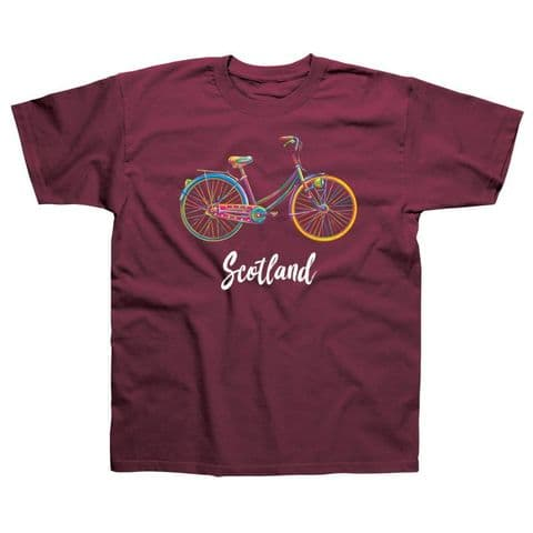 Classic T-Shirt - Scotland - Bicycle PM007