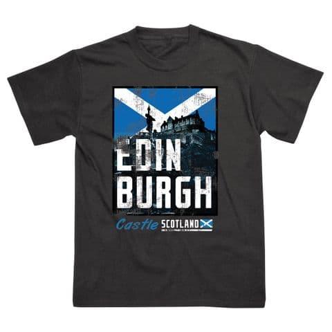 Classic T-Shirt - Scotland - Edinburgh Castle SS483