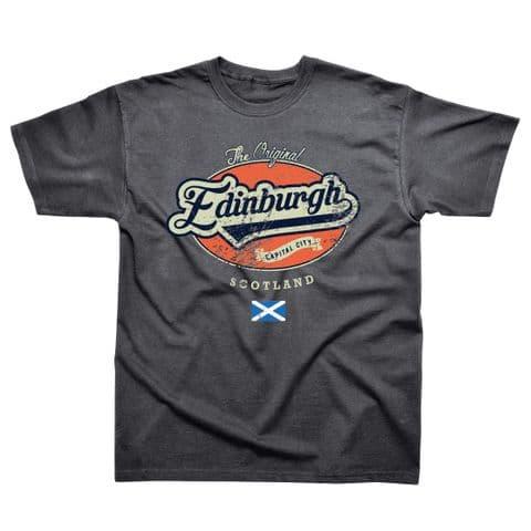 Classic T-Shirt - Scotland - Edinburgh Graphic SS490