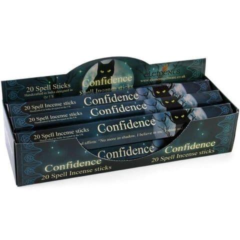 CONFIDENCE SPELL INCENSE STICKS BY LISA PARKER