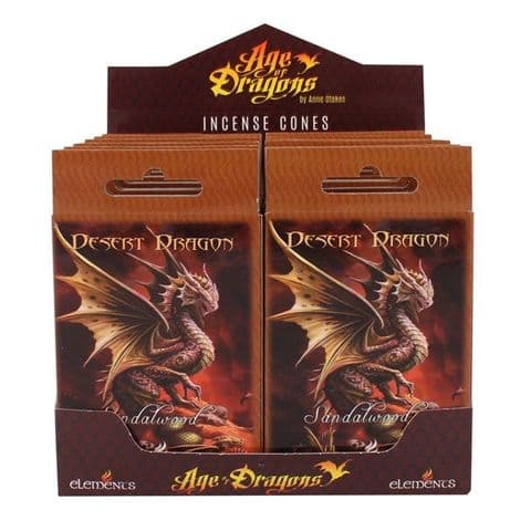 DESERT DRAGON INCENSE CONES