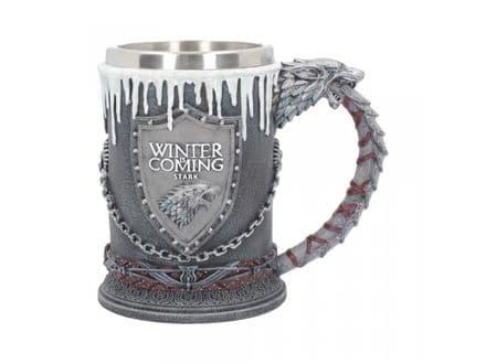 Game of Thrones - House of Stark Tankard 16cm