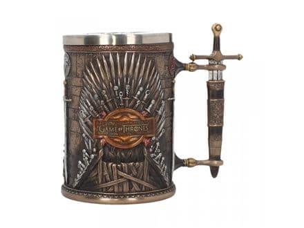 Game of Thrones - Iron Throne Tankard 14cm - B3698J7