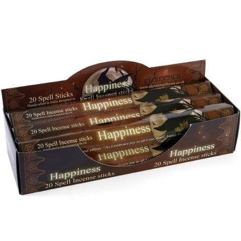 HAPPINESS SPELL INCENSE STICKS BY LISA PARKER