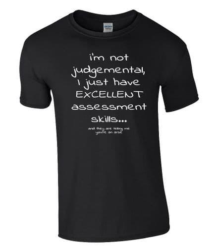 I'm not judgemental