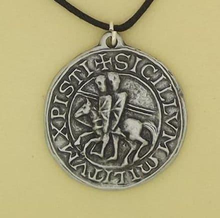Knight Templar Seal Pendant - P0645