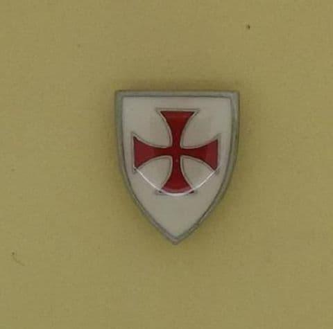 Knights Templar Enamelled Shield Pin Badge - LP0758