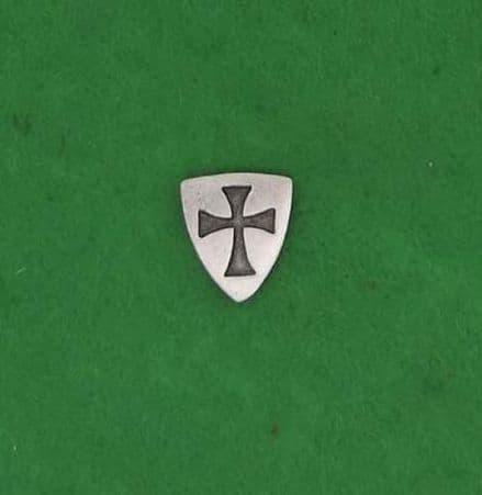 Knights Templar Shield Pin Badge - LP0699