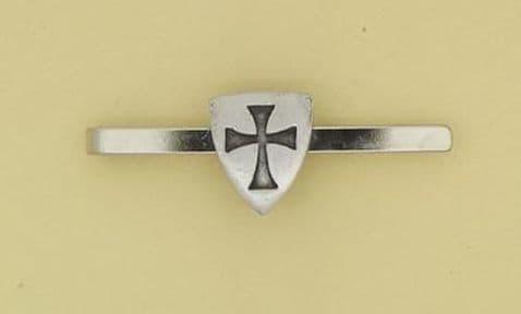 Knights Templar Shield Tie Bar - TB0699