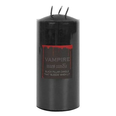 LARGE VAMPIRE TEARS PILLAR CANDLE