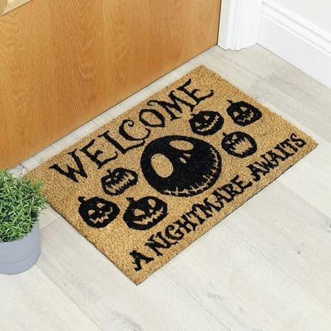 Nightmare Before Christmas (A Nightmare Awaits)  Doormat GP85256