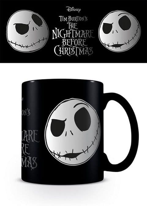 Nightmare Before Christmas (Jack Face)  Foil Mug