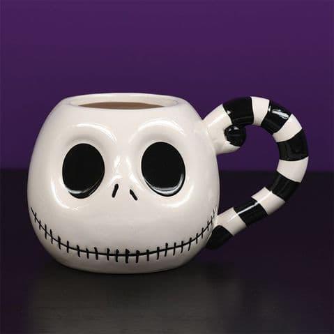 Nightmare Before Christmas (Jack Head) 3D Sculpted  Shaped Mug SCMG24973