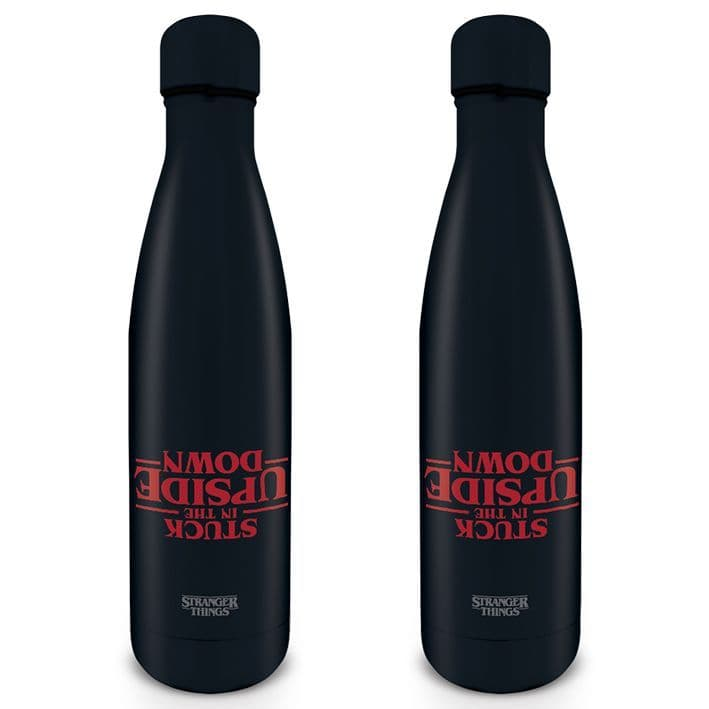 Stranger Things (Stuck in the Upside Down)  Metal Drinks Bottle