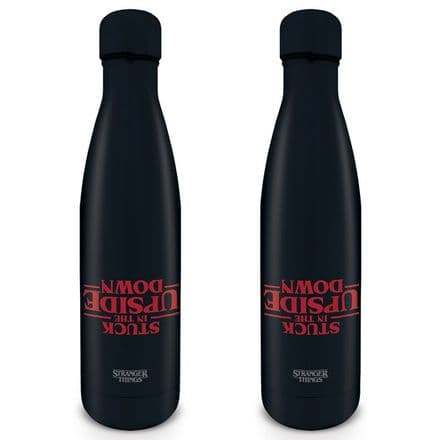 Stranger Things (Stuck in the Upside Down)  Metal Drinks Bottle