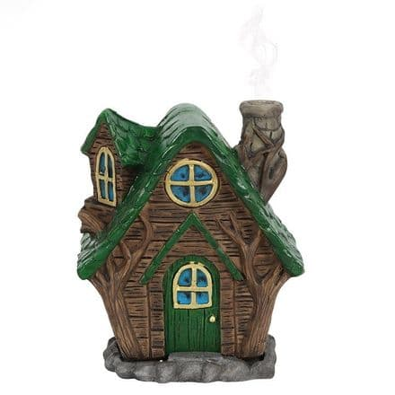 WOODY LODGE INCENSE CONE BURNER BY LISA PARKER