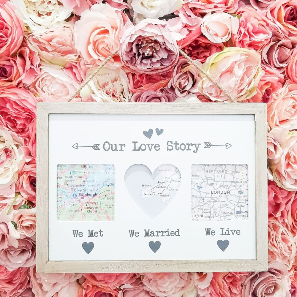 'Our love Story' Hanging Frame