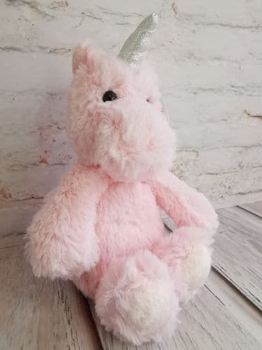 8'' Pretty Pink Plush Unicorn